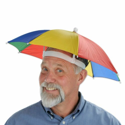 best white elephant gift ideas umbrella hat