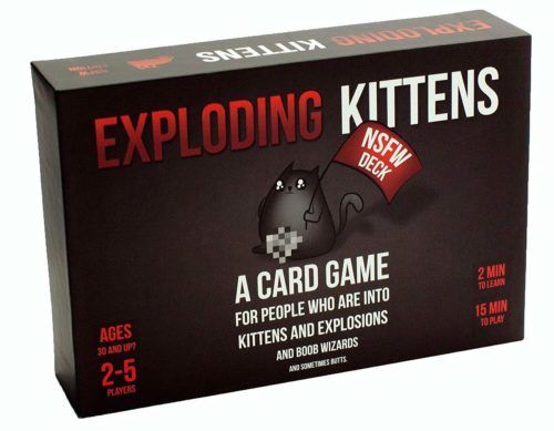 best white elephant gift ideas exploding kittens