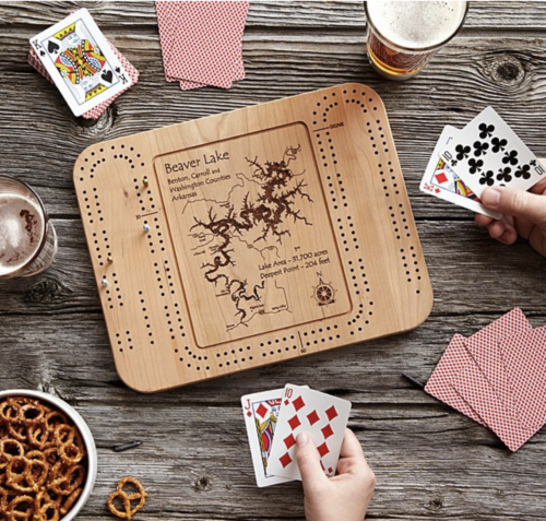 gifts for grandpa cribbage board