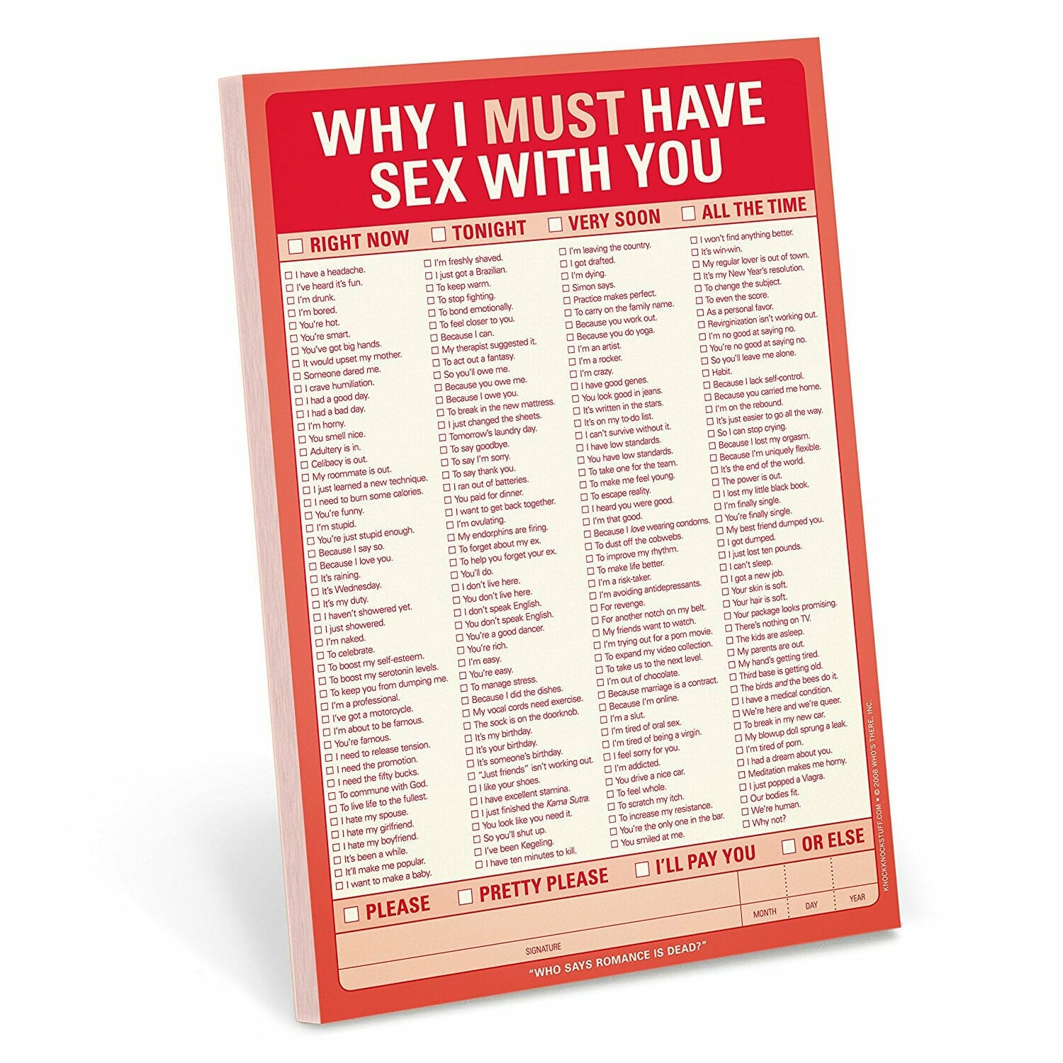 romantic gifts for him valentines sexy notes