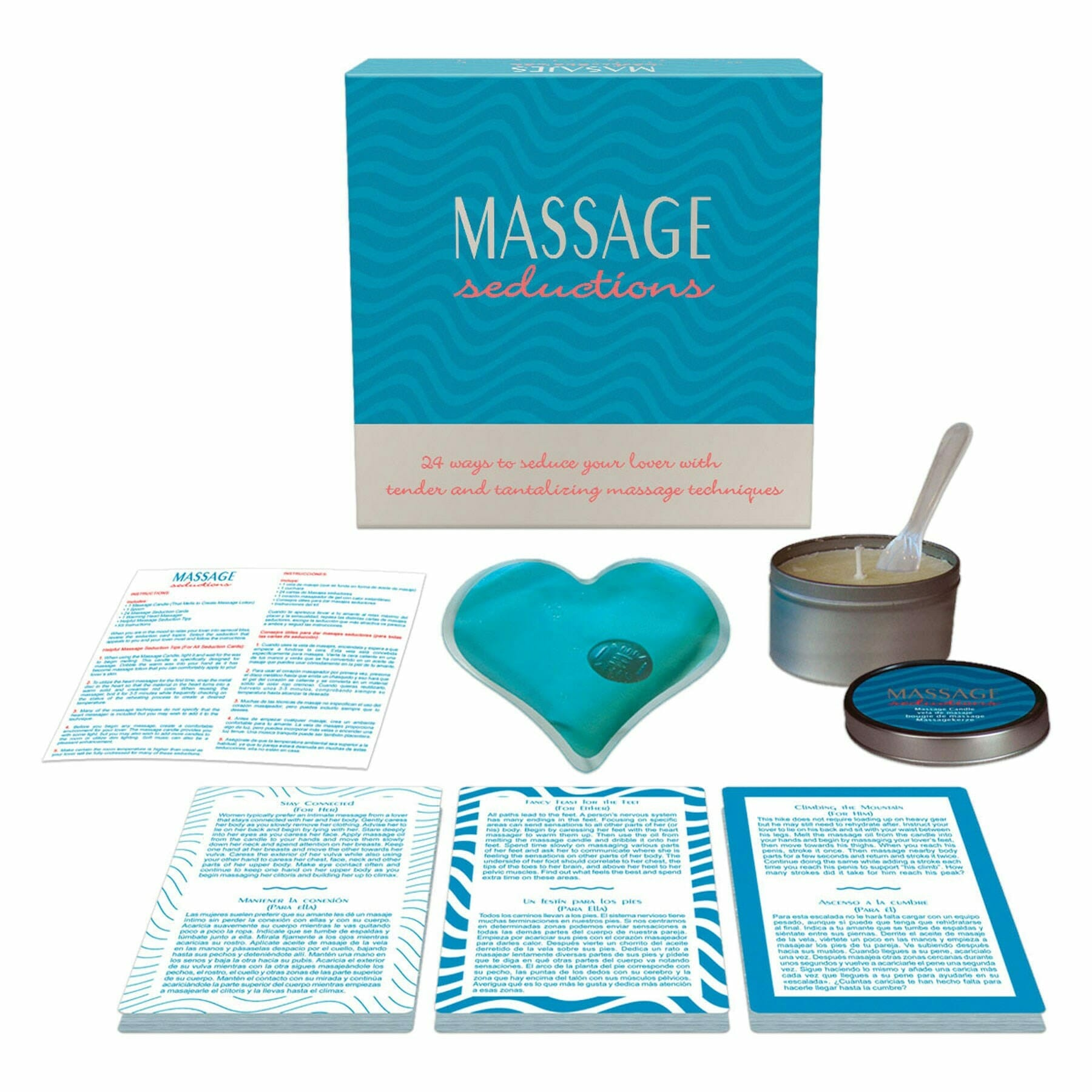 romantic gifts for him massage kit