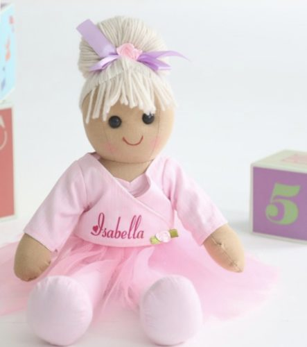 baptism gifts doll