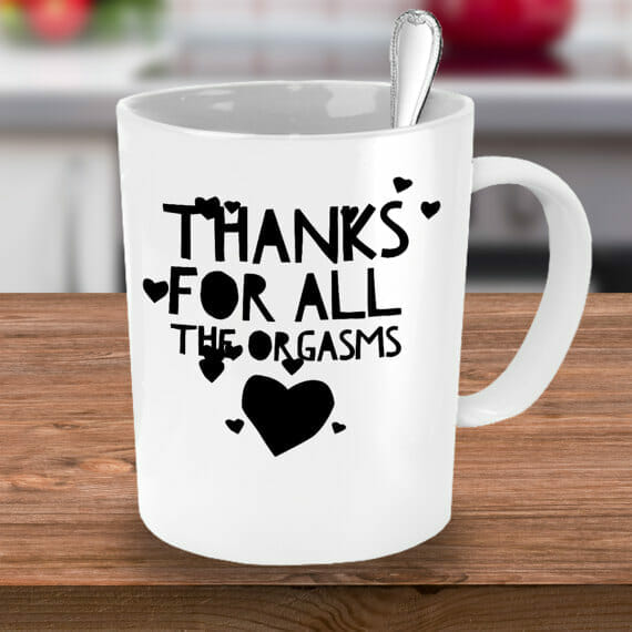 Romantic Gifts For Him Sexy Mug