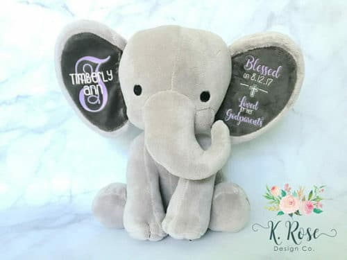 baptism gifts plush