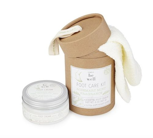 gifts for new moms foot kit