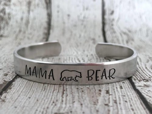gifts for new moms mama bear bracelet