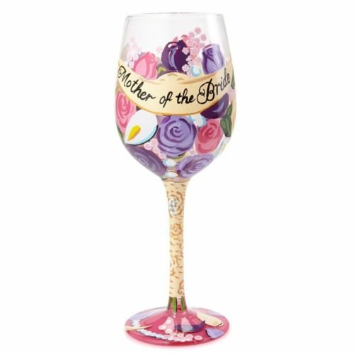 mother of the bride gifts glass