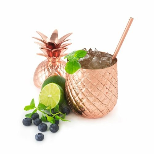 pineapple decor gift tumbler
