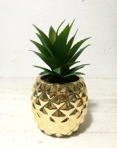 pineapple decor gifts planter