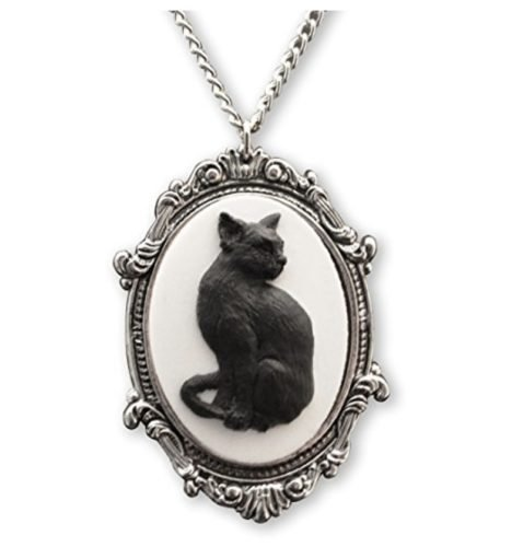cat jewelry cameo