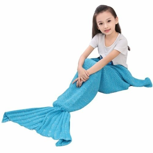 gifts for girls tweens mermaid blanket