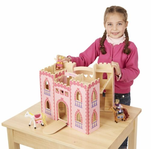 gifts for girls fold castle