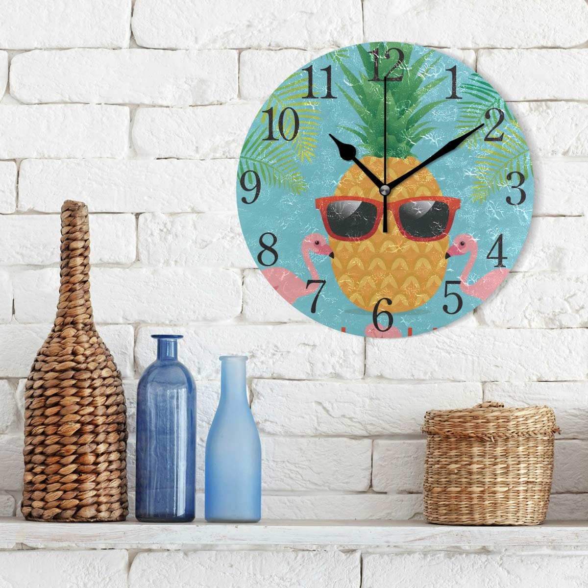pineapple-gifts-clock