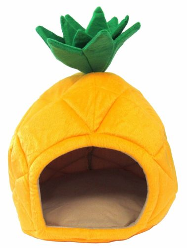 pineapple-decor-gifts-pet-bed