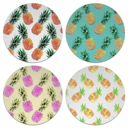 pineapple decor gifts coasters