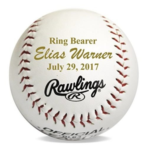 ring bearer gifts baseball