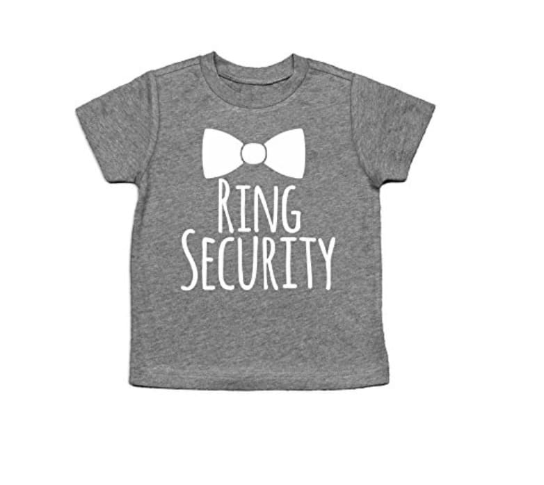 ring bearer gifts bowtie shirt
