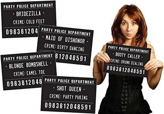 bachelorette-party-supplies-mug-shot-signs