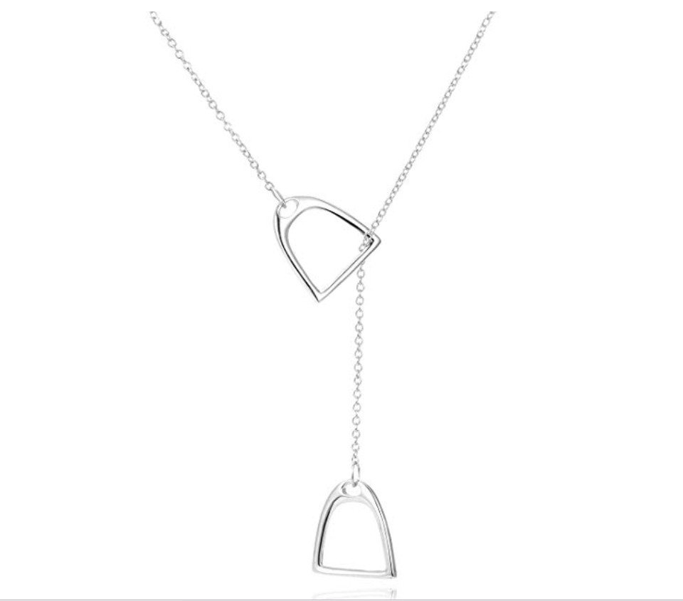 gifts-for-horse-lovers-stirrup-necklace