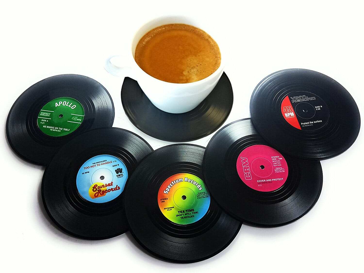 gifts-for-music-lovers-record-coasters