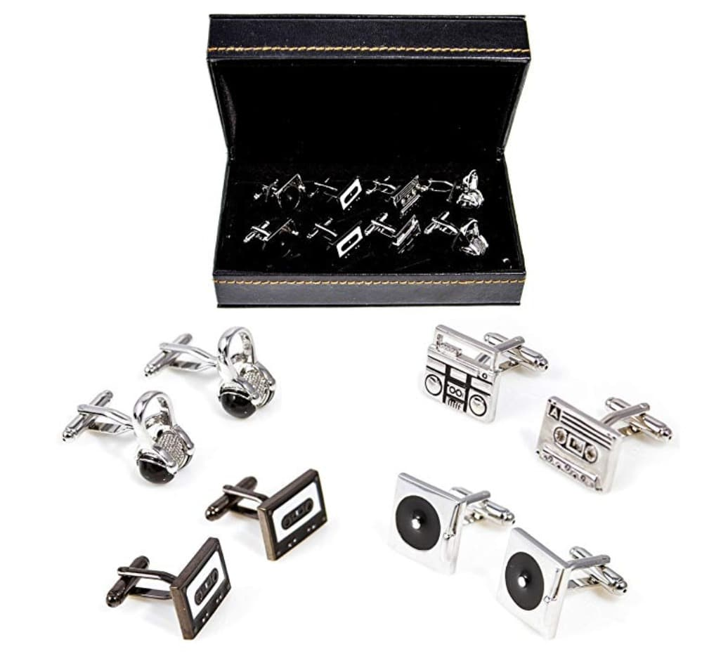 gifts-for-music-lovers-cufflinks