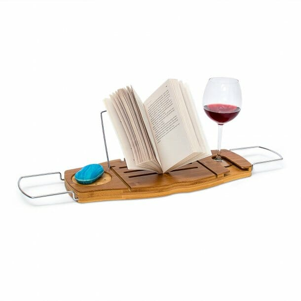 gifts-for-book-lovers-bath-caddy