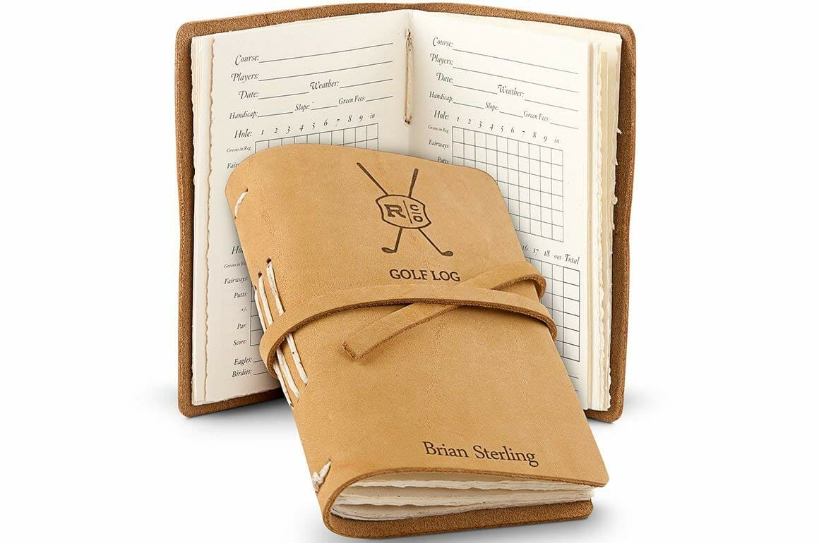 personalized-gifts-for-men-golf-journal