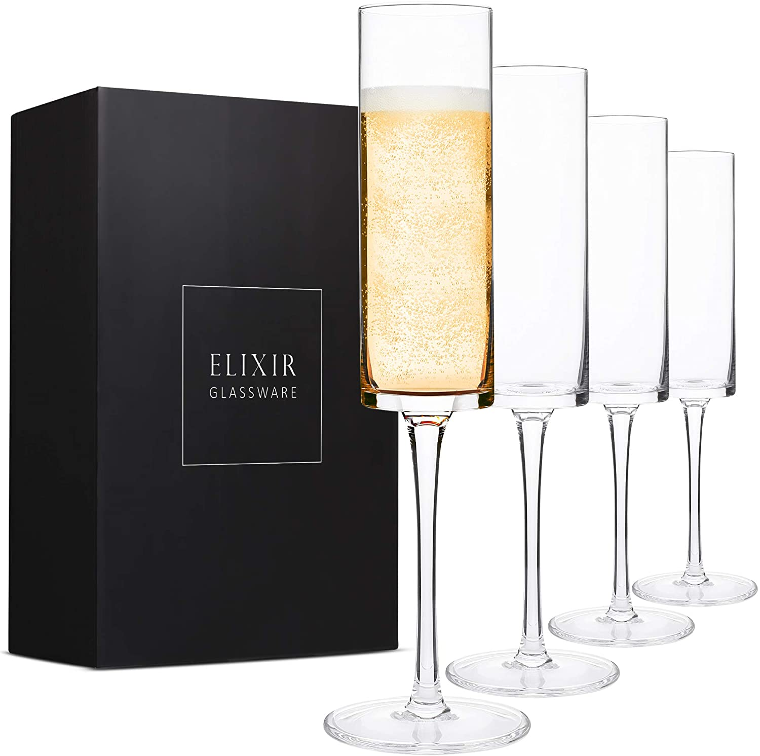 gifts-for-your-girlfriend-champagne-flutes