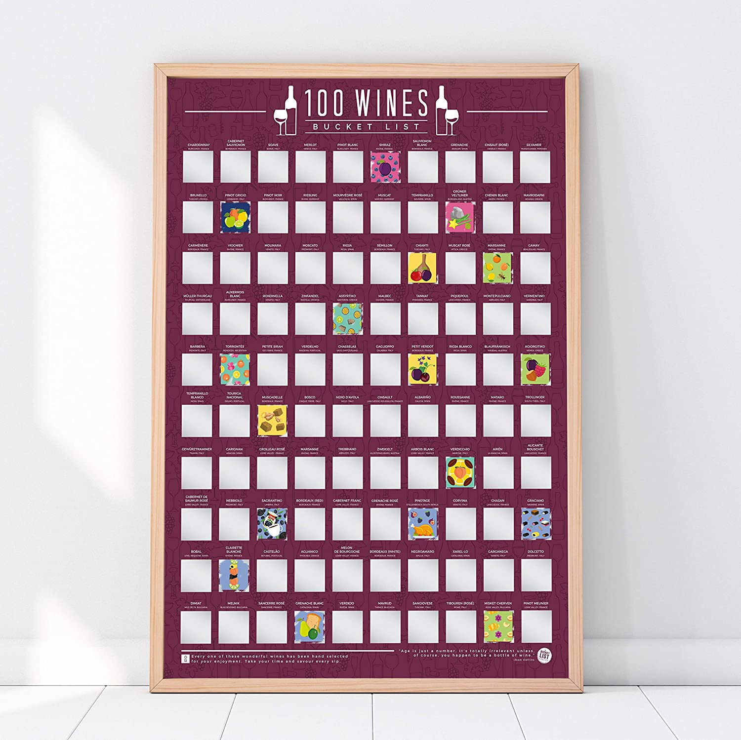 birthday-gifts-for-her-wine-scratch-poster