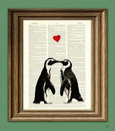 cute-penguin-gifts-wall art