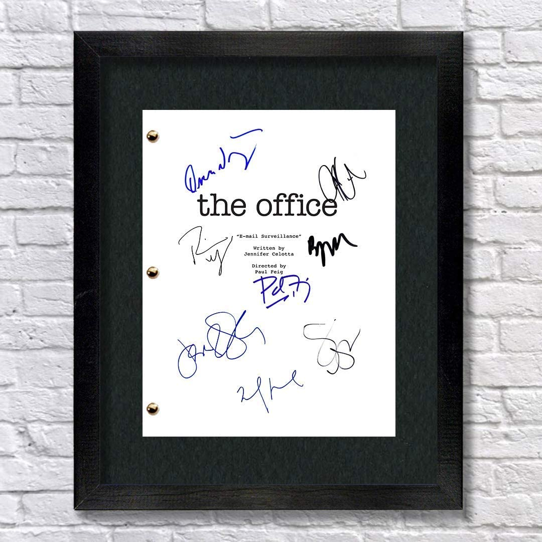 the-office-gifts-autograph-print