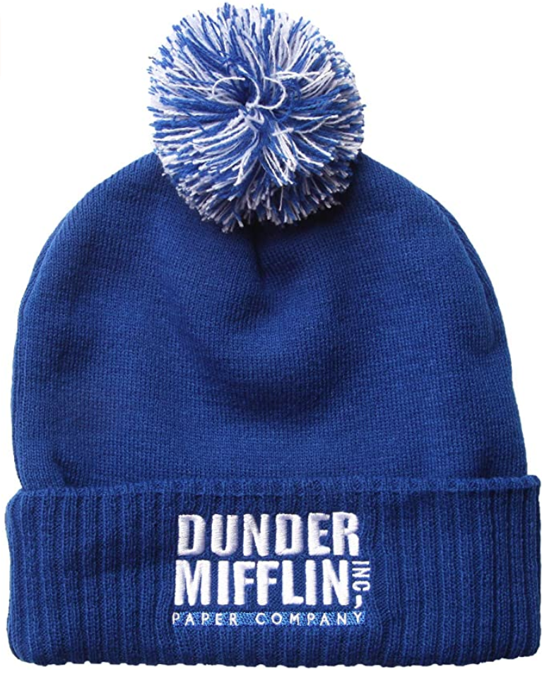 the-office-gifts-dunder-mifflin-beanie