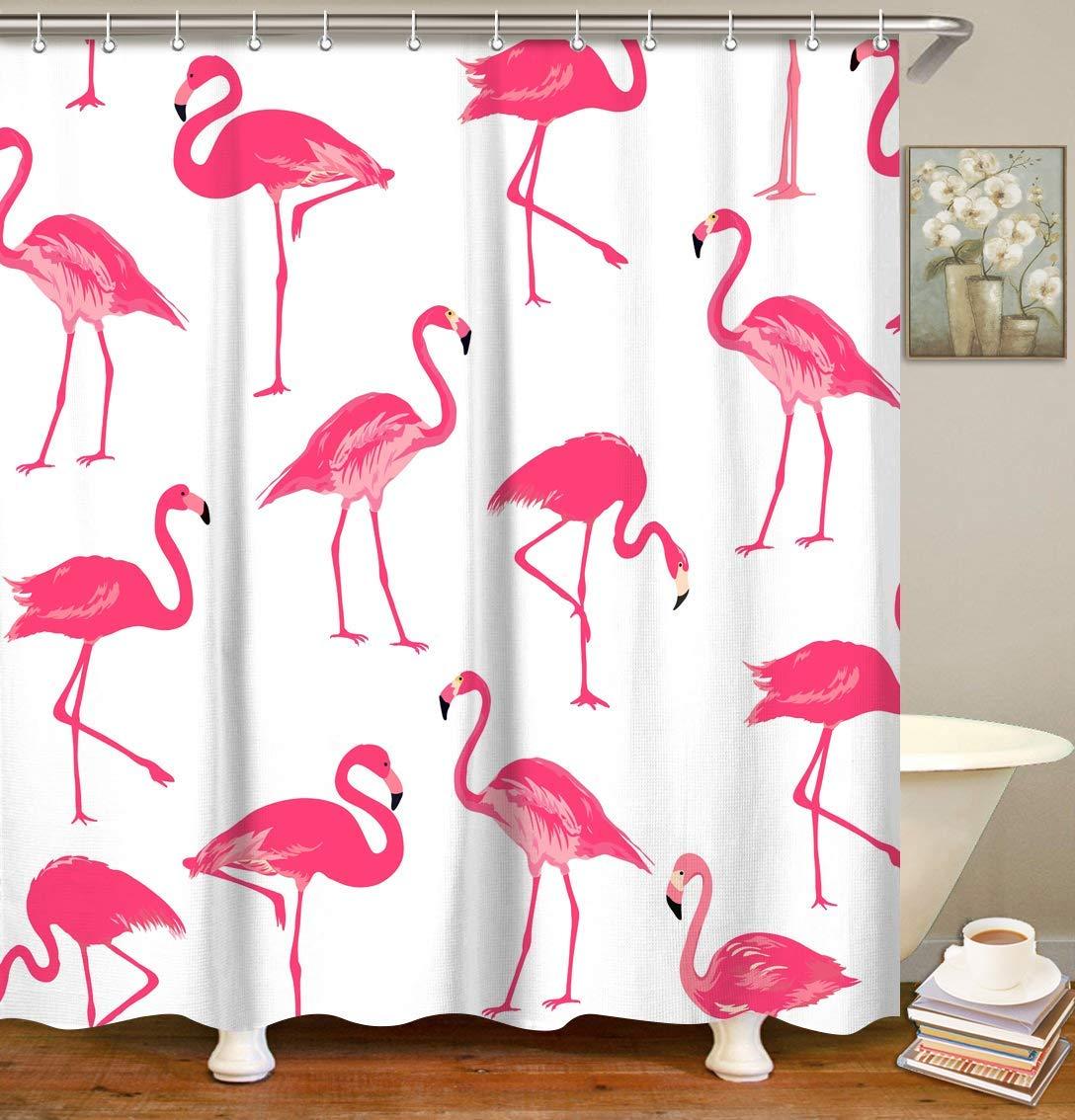 flamingo-gifts-shower-curtian