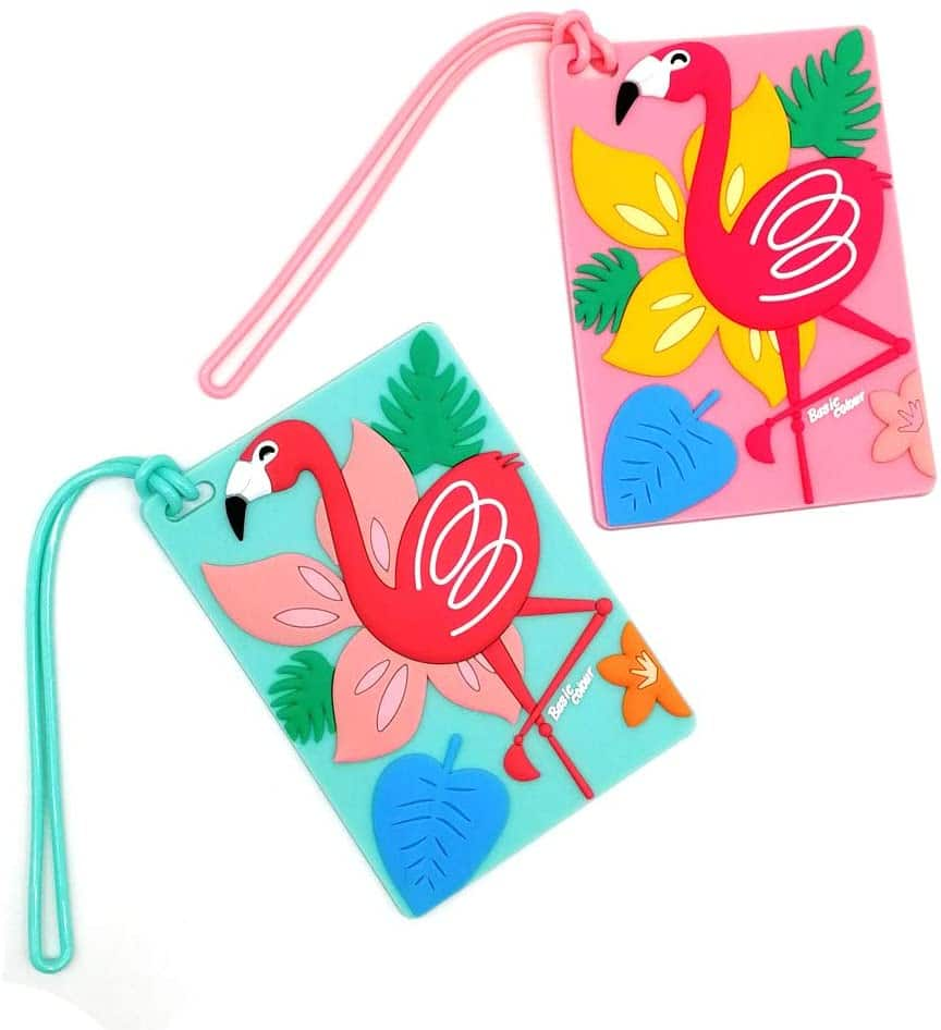flamingo-gifts-luggage-tags