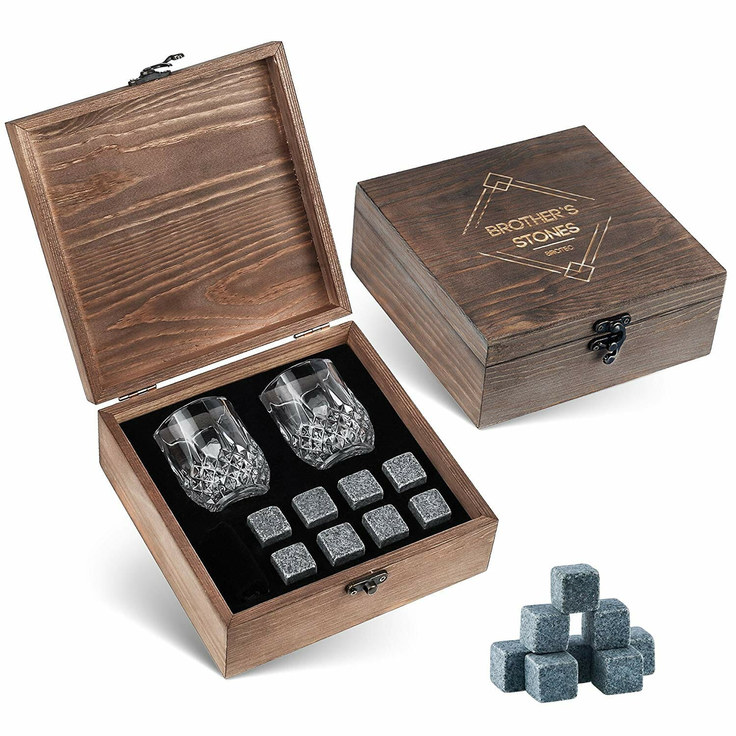 housewarming-gifts-for-men-whiskey-stones