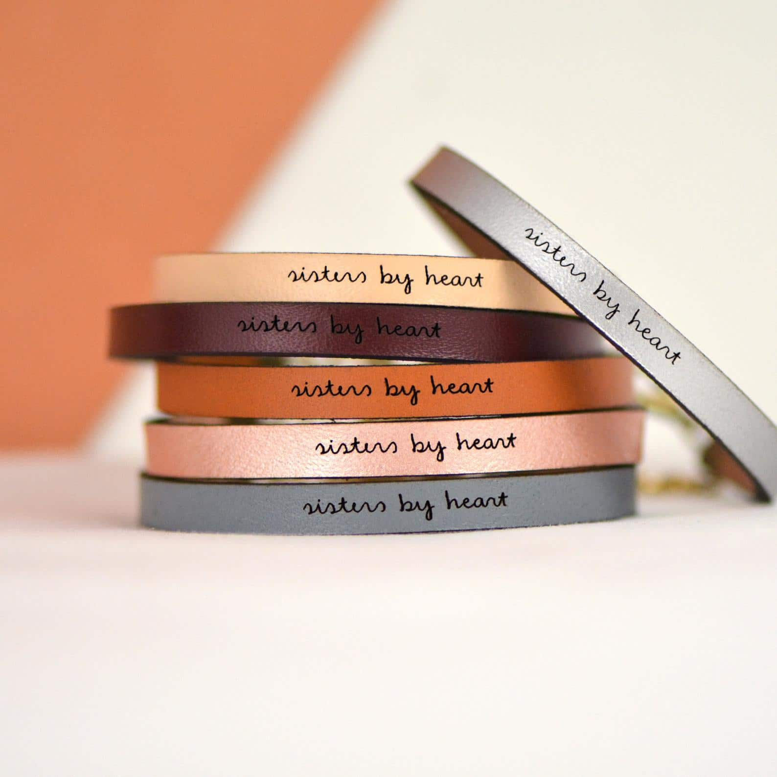 gifts-for-sister-in-law-leather-bracelet