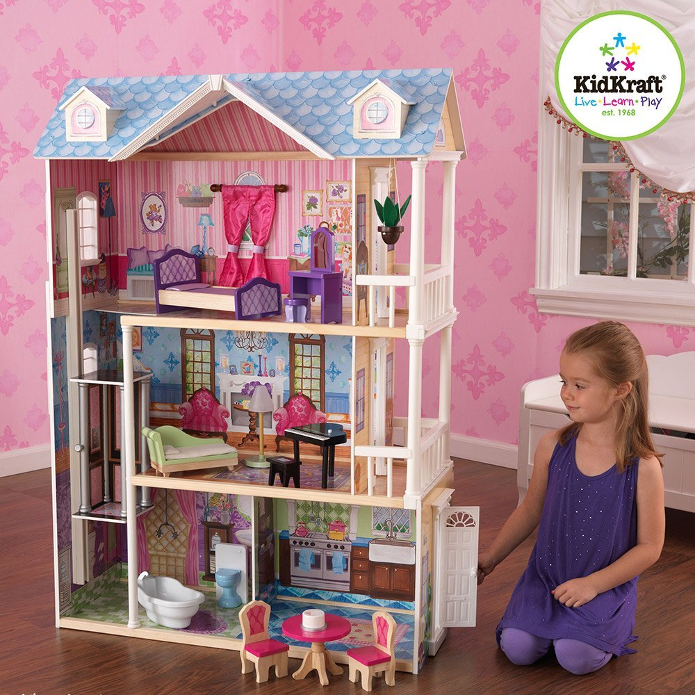 gifts-for-5-year-old-girls-dollhouse