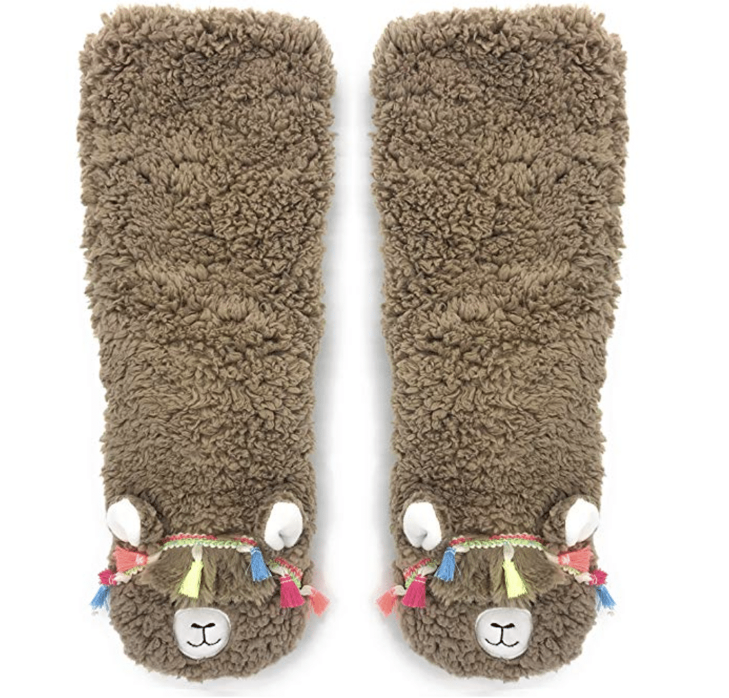 llama-gifts-slippers
