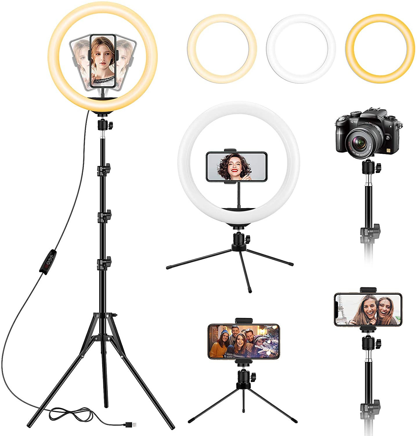 christmas-gifts-for-best-friend-ring-light