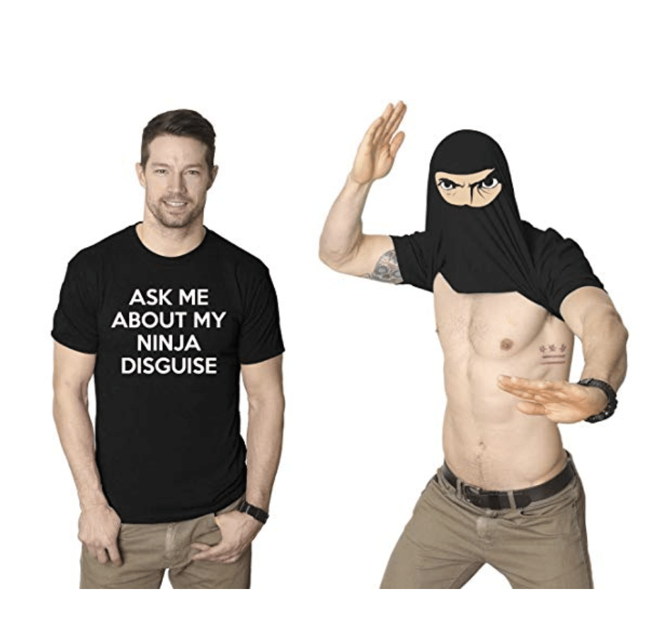 gag-gifts-for-men-ninja-shirt