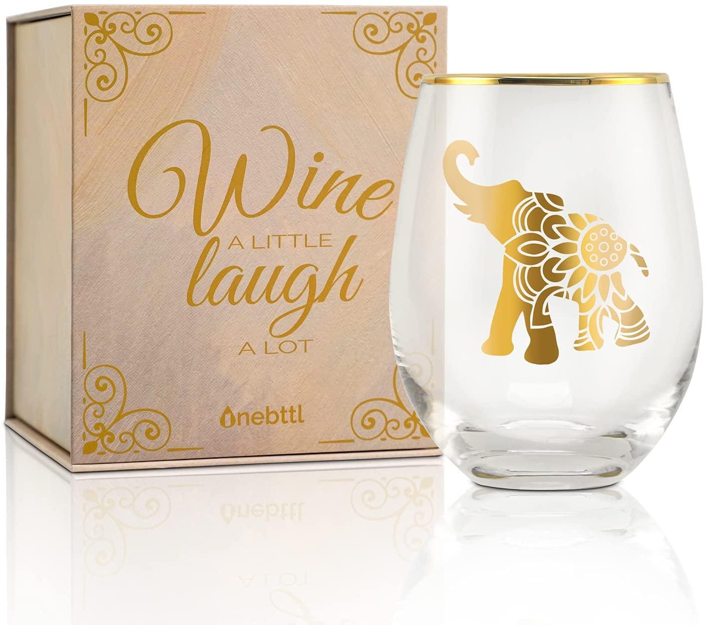 elephant-gifts-wine-glass
