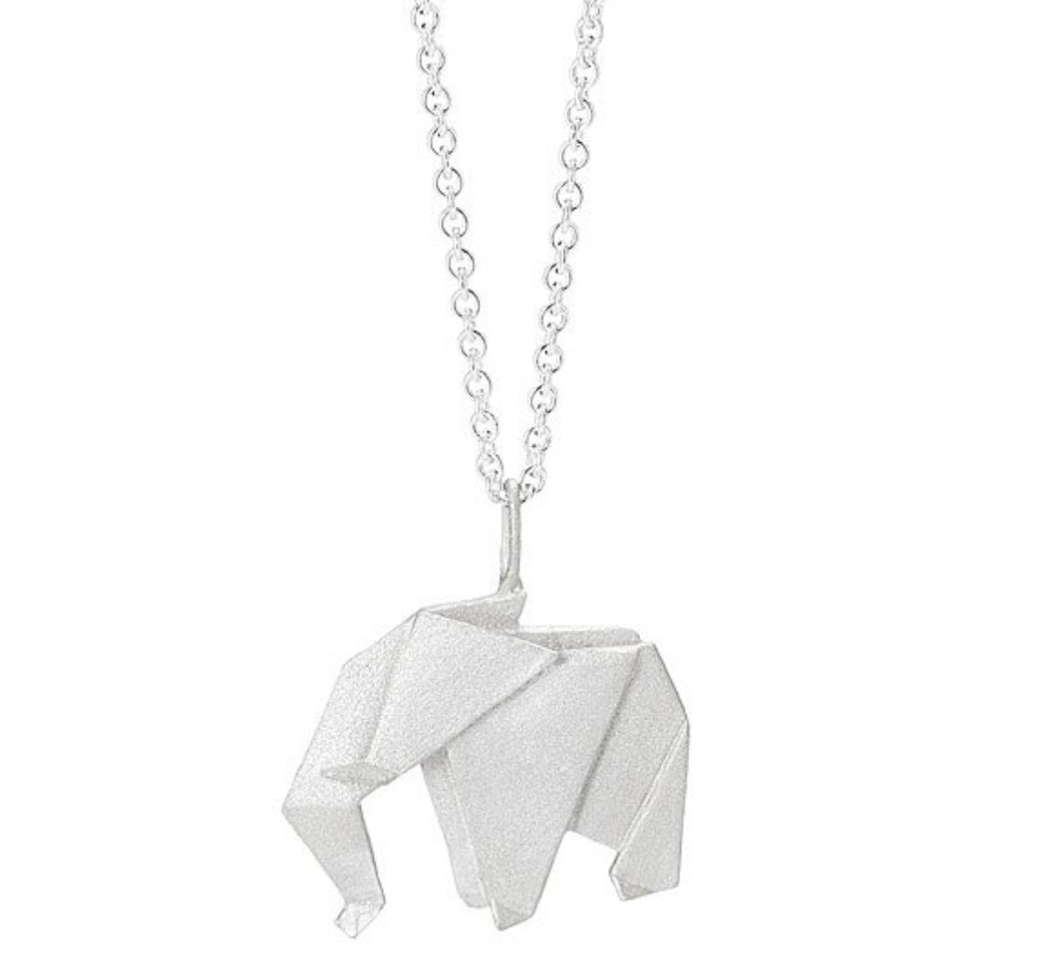 elephant-gifts-origami-necklace
