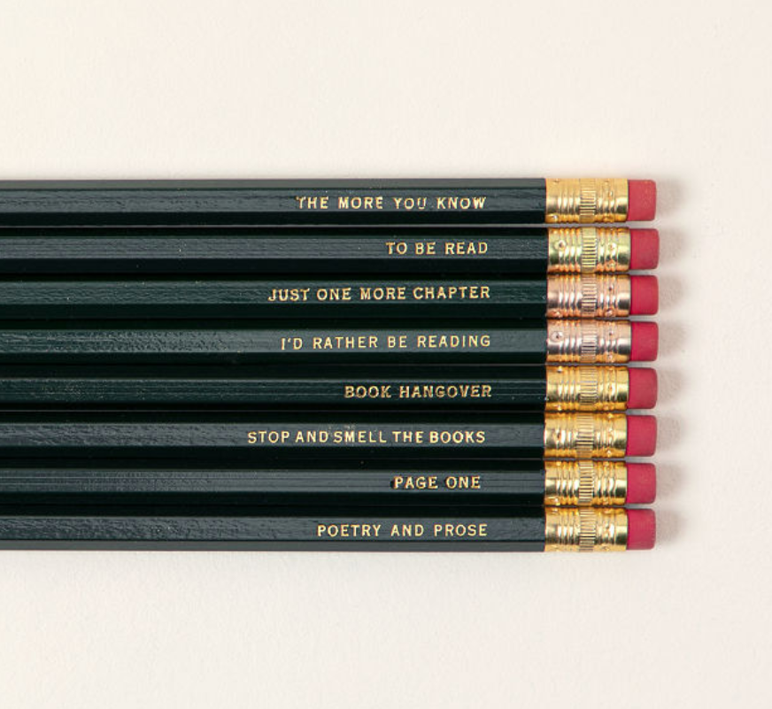 gifts-for-readers-pencil-set