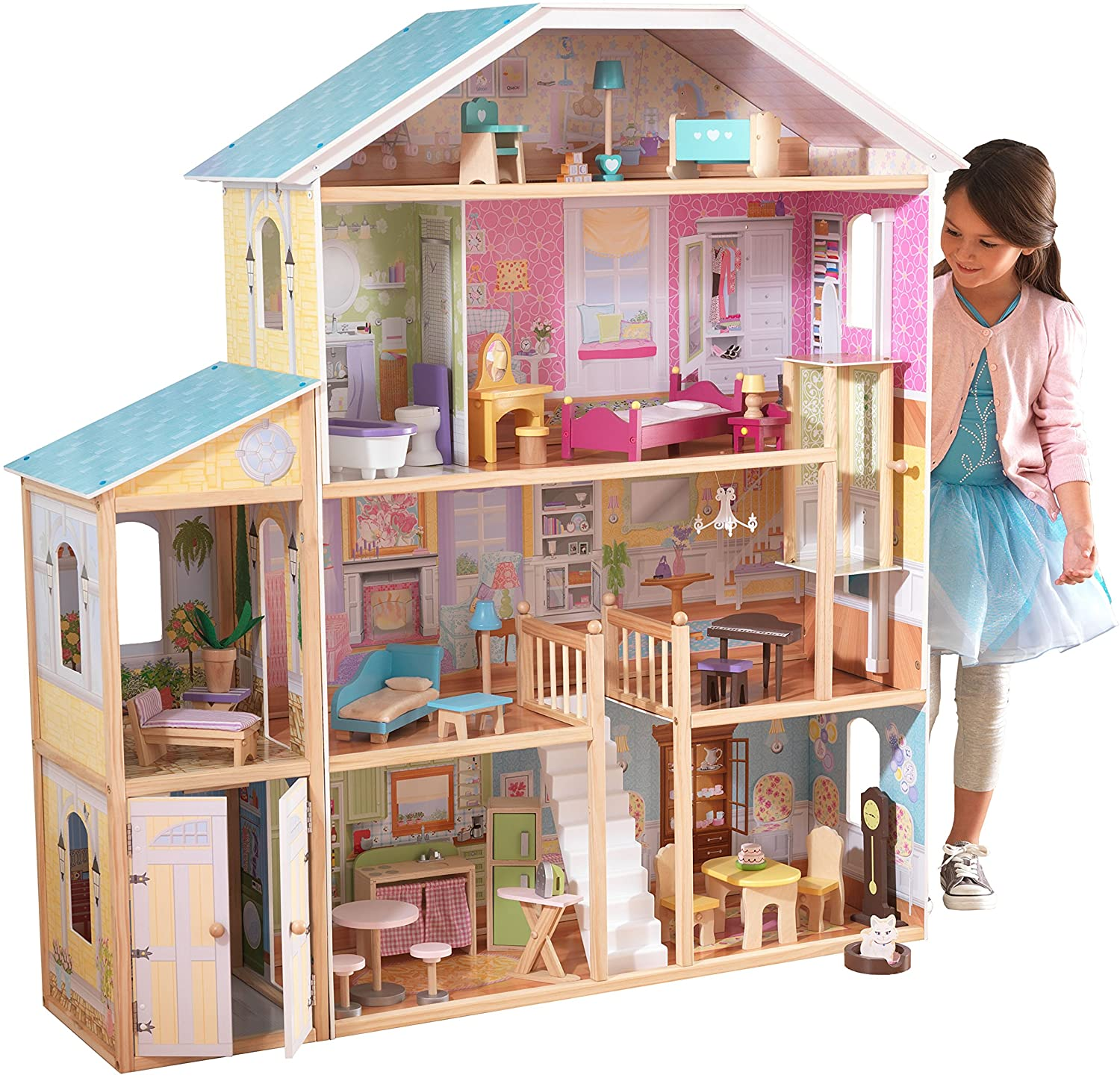 gifts-for-7-year-old-girls-dollhouse