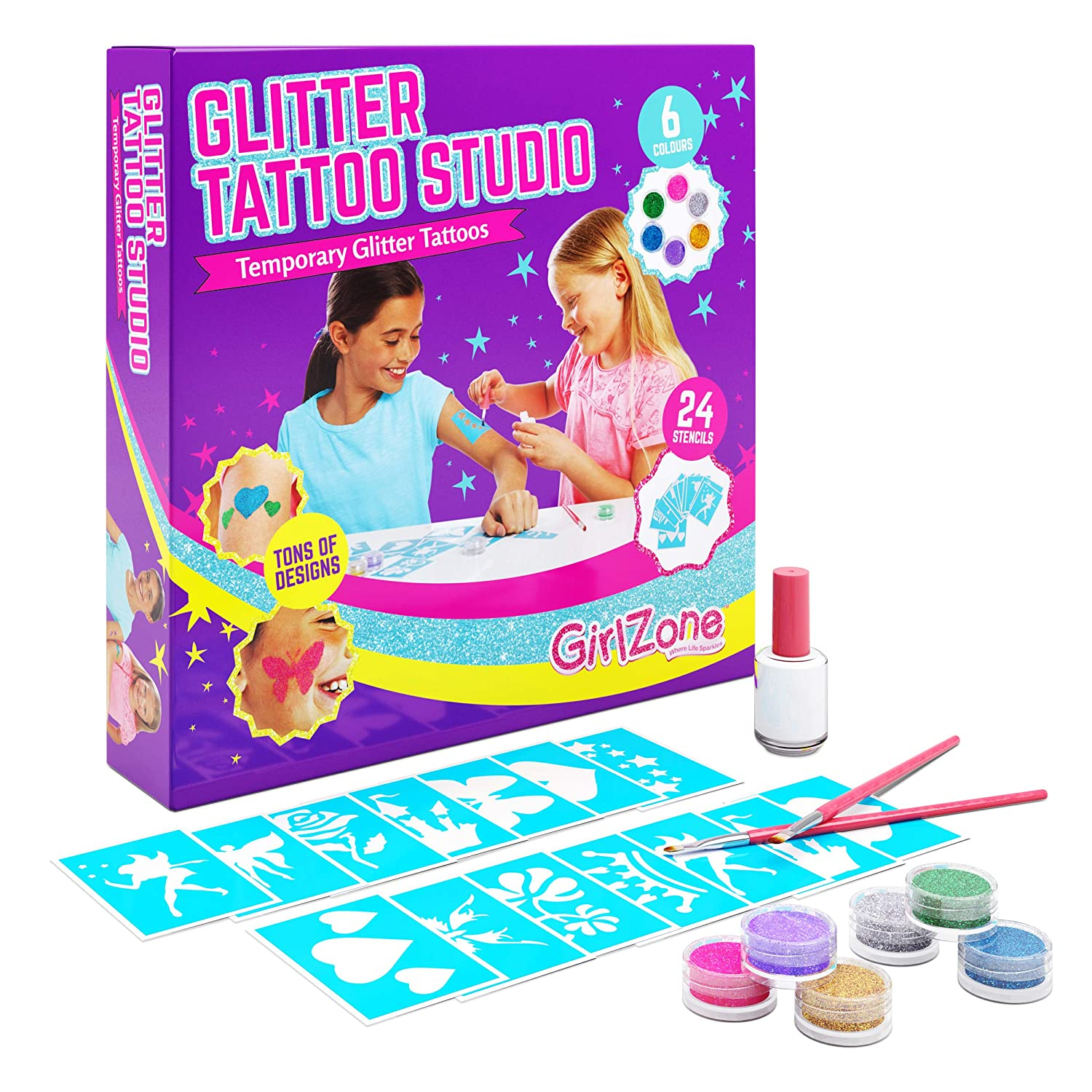 gifts-for-7-year-old-girls-tattoos
