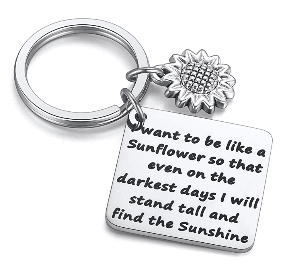 sunflower-gifts-keychain