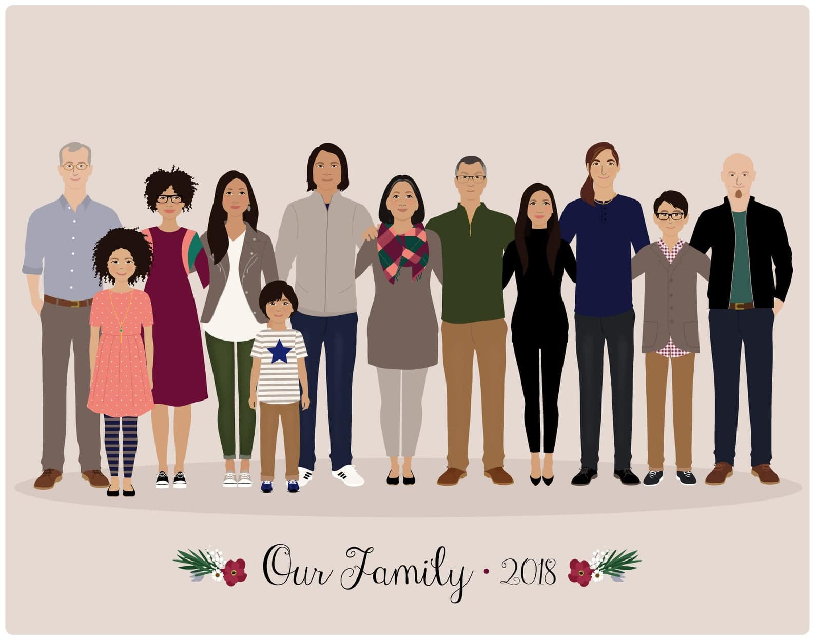gifts-for-mother-in-law-family-portrait