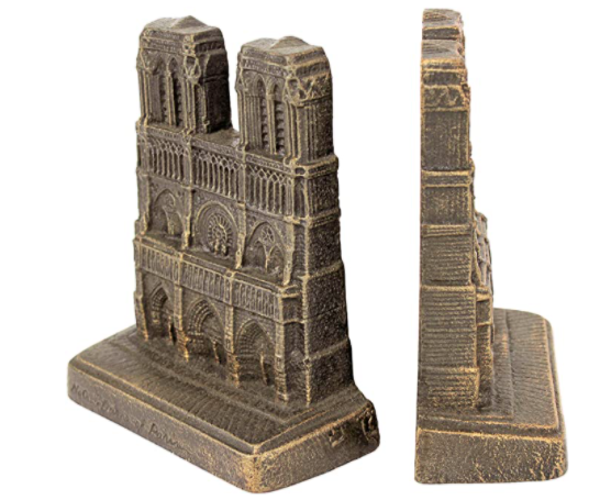 gifts-for-history-buffs-notre-dame-bookends