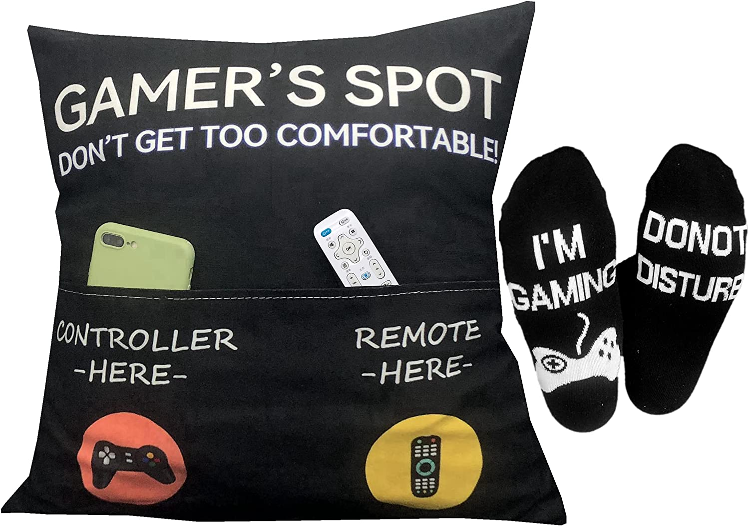gifts-for-13-year-old-girls-gamer-pillow-and-socks