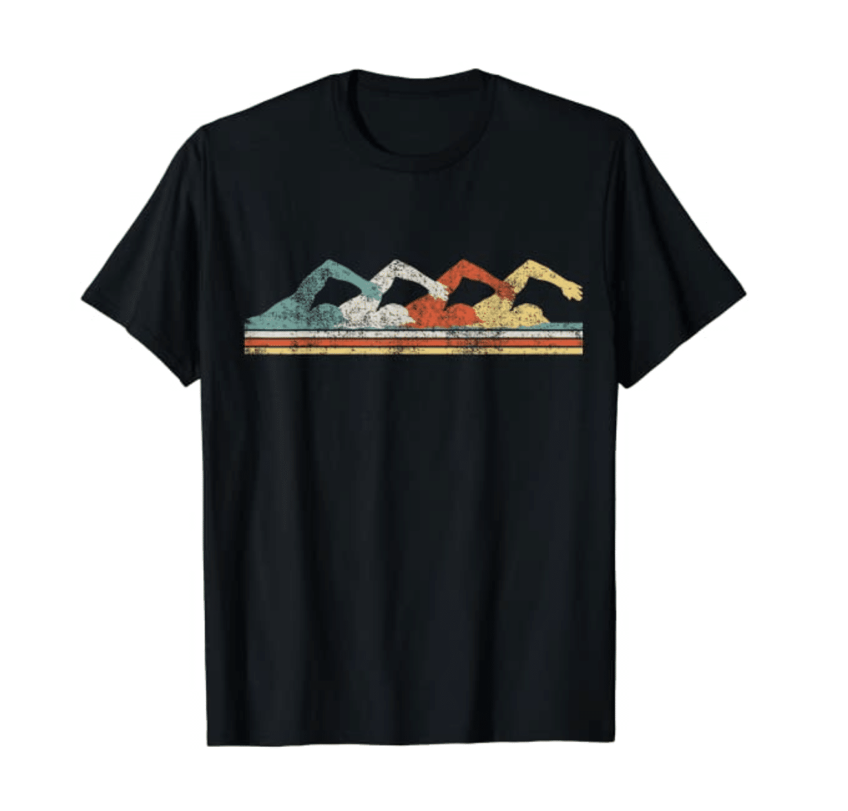 gifts-for-swimmers-retro-tee